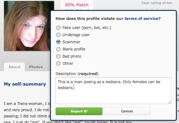 Transgender dating okcupid